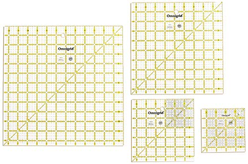 Omnigrid Ruler Value Pack 1, Package of Four (3 Units)