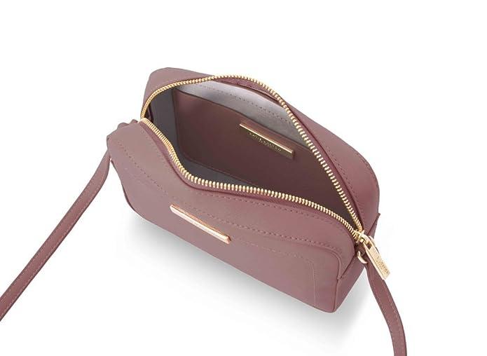 0ac1a618c77 Katie Loxton - Loulou Cross Body Bag - Blush Berry Pink: Handbags:  Amazon.com