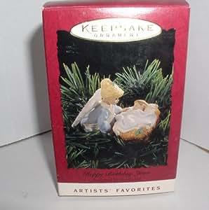 "1994 HALLMARK KEEPSAKE ORNAMENT ""HAPPY BIRTHDAY JESUS"""