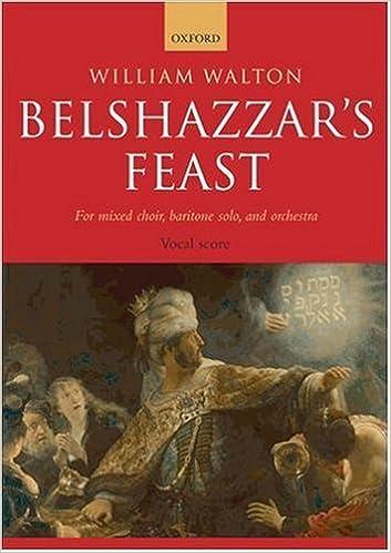 Book Belshazzar's Feast: Vocal score (2008-03-15)