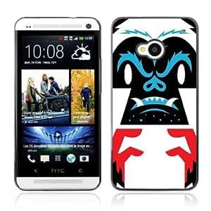 Designer Depo Hard Protection Case for HTC One M7 / Cool Gorilla