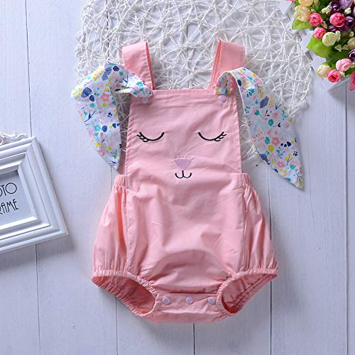 Baby girl easter romper