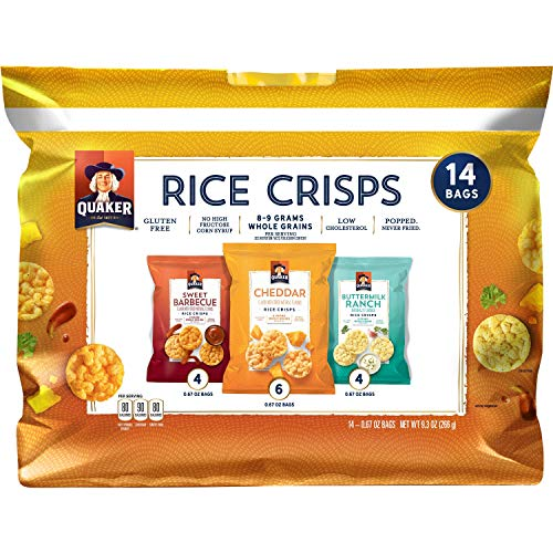 Rice Cakes, Chips & Crackers