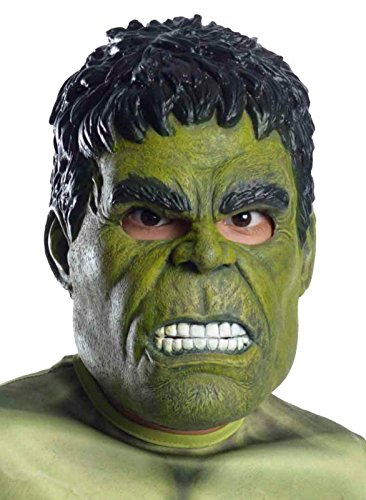 Officially Licensed Adult Men's Avengers: Age of Ultron Hulk Latex Mask (One Size Adult)