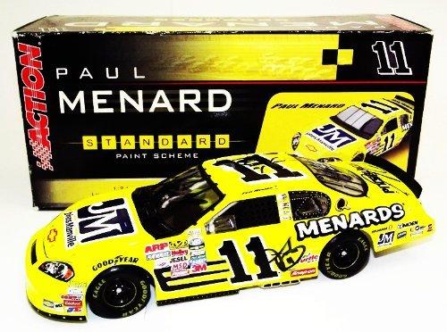 6x-autographed-2006-paul-menard-11-johns-manville-racing-childress-signed-1-24-action-nascar-diecast
