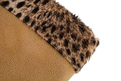 1TO9 - Zapatillas altas mujer marrón