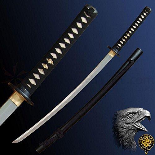 (CAS Hanwei PC2415 Raptor Unokubi Zukuri Katana Knife)