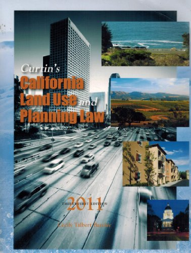 Curtin's California Land Use & Planning Law 2011 (2011-05-03)
