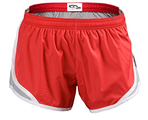 Red EMC Momentum Sports Shorts Silver qwgwrT