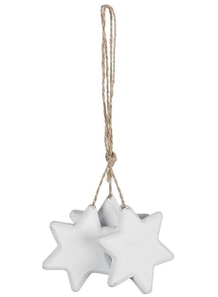 Amazoncom Sullivans Clustered Christmas Stars White 2 X 75 Inch