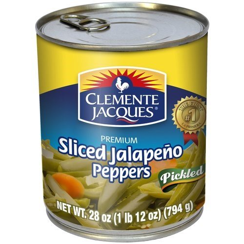 (Clemente Jacques Jalapeno Peppers, Sliced, 28 Ounce (Pack of 12))