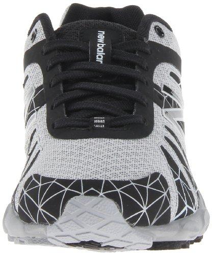 888098067965 - New Balance KJ890 Pre Lace-Up Running Shoe (Little Kid),Black/Silver,11 W US Little Kid carousel main 3