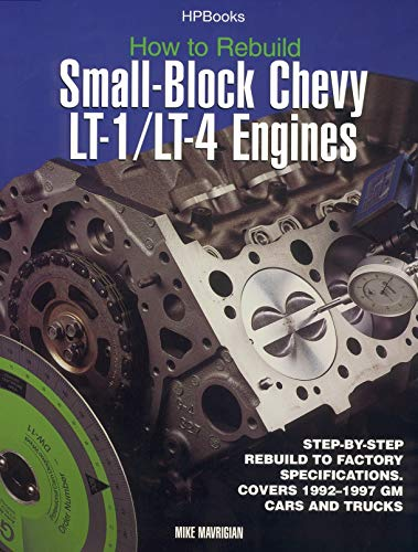 How to Rebuild Small-Block Chevy Lt1/Lt4 Engines Hp1393