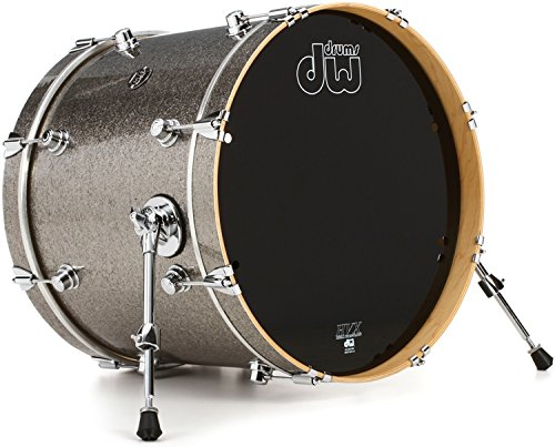 DW Performance Series Bass Drum 16x20 - Titanium - Sparkle Titanium