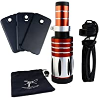 Apexel 50X Ultra Beast Magnifier Zoom Manual Focus Telephoto Telescope Phone Camera Lens Kit with High-end Tripod for Samsung Galaxy S7 Edge