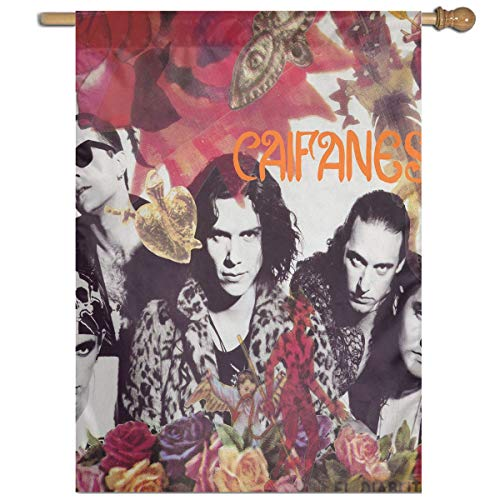 BeatriceBGault-id Caifanes Will Not Fade Home Garden Flag Polyester Flag Indoor/Outdoor Wall Banners Decorative Flag Garden Flag (27x37 Inch)