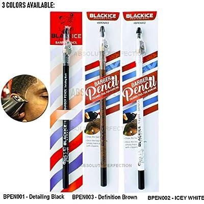 Black Ice Spray Barber Pencil (Black): Beauty