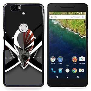 Evil Skull & Swords Caja protectora de pl??stico duro Dise?¡Àado King Case For Huawei Nexus 6P