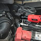"AKM 3/8"" Cordless Electric Ratchet Wrench Set,12V"