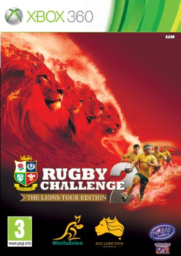 Rugby Challenge 2-the Lions Tour Edition (UK Cover (Rugby Challenge 2 The Lions Tour Edition)