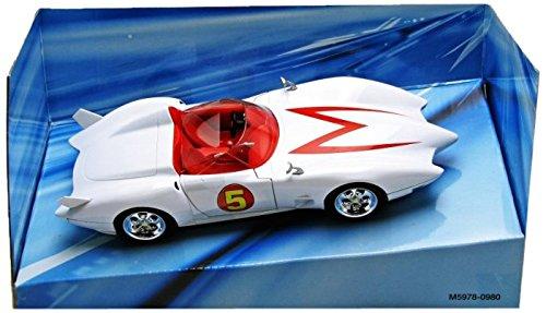 Mattel Speed Racer Collector 1:24 Mach 5 Vehicle