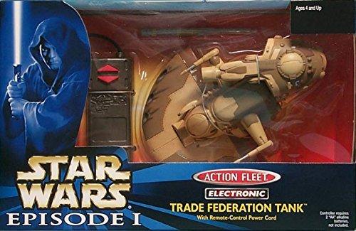 Trade Federation Armored Assault Tank - Star Wars Action Fleet Electronic Trade Federation Tank