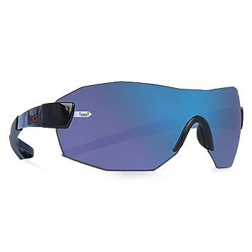 gloryfy unbreakable eyewear Sonnenbrille G4 Radical Nano TRF Pol, Blau