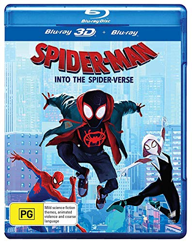 Spider-Man: Into the Spider-Verse 3-d (Blu-ray 3-d/Blu-ray)