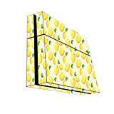 Lemon Lemon Lemons and More Lemons Pattern Playstation 4 PS4 Console Vinyl Decal Sticker Skin by Moonlight Printing