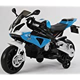New 2017 Model Official Licensed BMW S1000R Rechargeable Electric Ride on Motorbike Kids Sports Pocket Motor (BLUE)