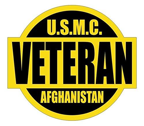 (1 Set Momentous Unique U.S.M.C. Afghanistan Veteran Window Stickers Laptop Luggage Graphics Marines Corps Military Persian Badge Decor Vinyl Art Sticker Size 2
