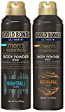 #8: Gold Bond Powder Spray Combo, NightFall & Recharge Scent