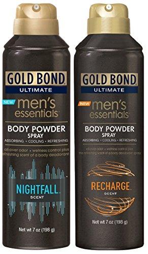 Gold Bond Powder Spray Combo, NightFall & Recharge ()