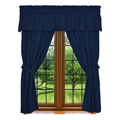 Clara Clark 5 Piece Curtain 84 Inch
