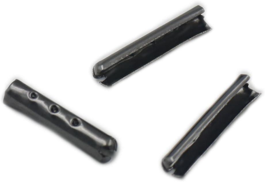 100 pcs 3 mm 4 mm 5 mm punta de bala Metal extremos herrete de ...