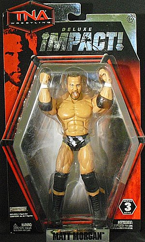 MATT MORGAN - DELUXE IMPACT 3 TNA JAKKS TOY WRESTLING ACTION FIGURE