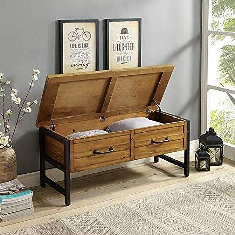 Enjoyable Amazon Com Entryway Solid Hardwood And Wood Veneers Drawer Creativecarmelina Interior Chair Design Creativecarmelinacom