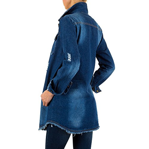 iTaL-dESiGn - Chaqueta - Blusa - para mujer Azul