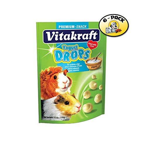 Vitakraft Yogurt Drops for Guinea Pigs - 6 PACK - Vitakraft Small Animal