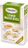 100 calorie ice cream - Dolcetto Petites Lemon Wafer Bites - Pack of 3, 4.2 Oz. Ea.