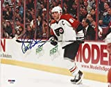 Eric Lindros Signed Picture - 8x10 w COA - PSA/DNA Certified - Autographed NHL Photos
