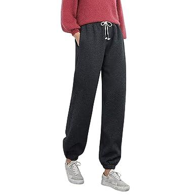 Pantalones Chandal para Mujer Termicas Invierno Más Felpa ...