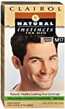 Clairol Natural Instincts for Men Hair Color, Brown Black (M17)