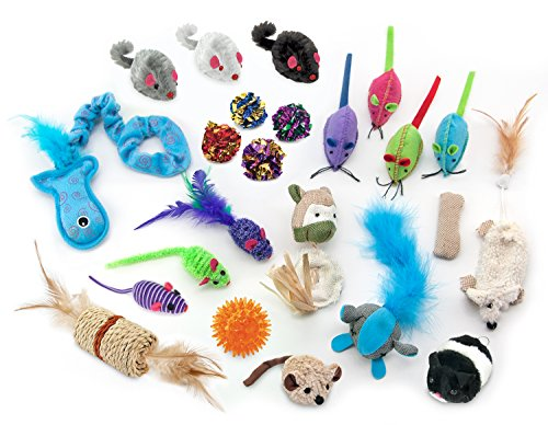 Boy Cat Toys Gift Set by Best Pet Supplies
