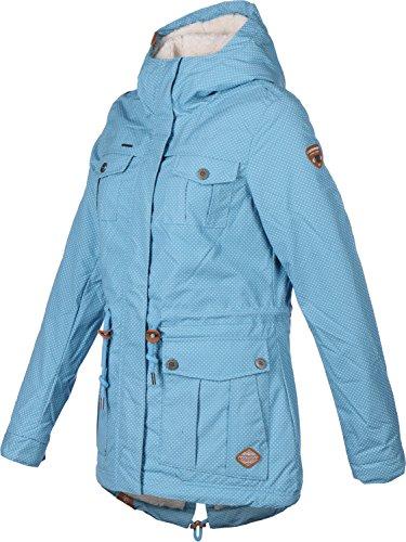 Ragwear Laika Minidots Women Jacke, Light Blue, Gr. L