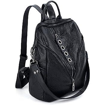 08985910619 Amazon.com: UTO Women Backpack Union Jack UK Flag Rivet Studded PU ...