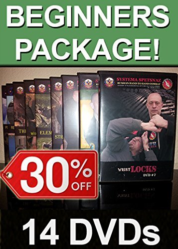 SELF-DEFENSE DVDs - Russian Martial Arts Training 14 DVD set - Hand-to-Hand Combat Instructional Videos - 30% Off