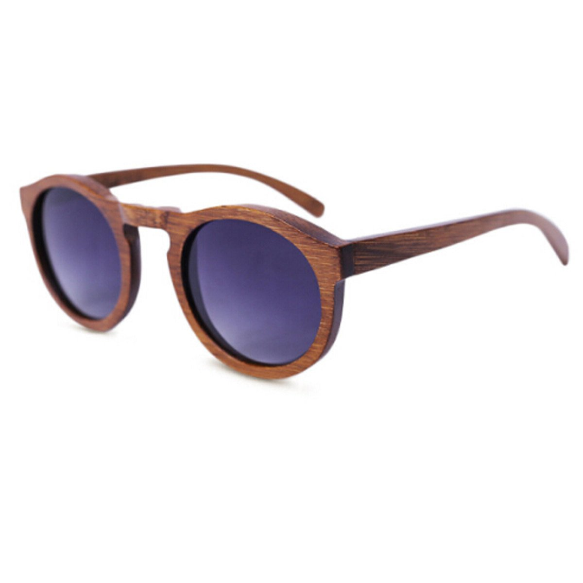 HAOYUXIANG / Mode / Holzrahmen / Holzbeine / Polarisierte / Holz Sonnenbrillen,Red