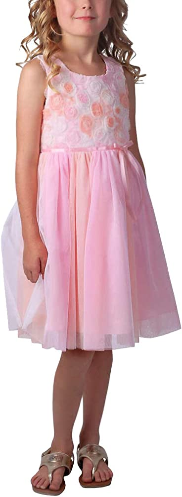 Jona Michelle Girls/' Special Occasion Dresses with Diaper Cover Various Colors