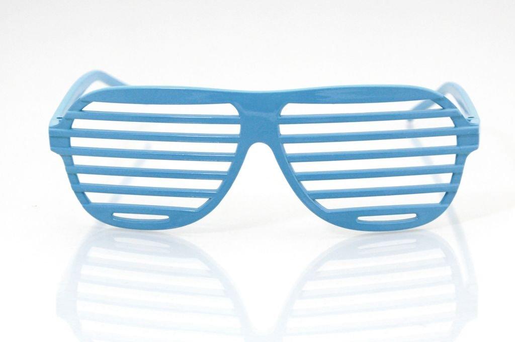 03efa3bd74ec Shutter Shades Party Glasses Sunglasses Novelty Glasses etching glasses  Kanye West Style in Blue  Amazon.co.uk  Sports   Outdoors
